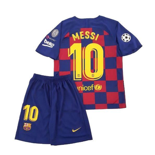Forma Barselony Dlya Detej Kupit Detskuyu Futbolnuyu Formu Messi 2019 2020 V Moskve